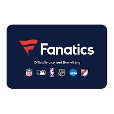 Fanatics eGift Card ($10 - $500)