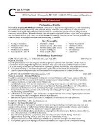 medical assistant professional resume sample   design resumes