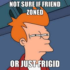 Not Sure If Friend Zoned Or Just Frigid ● Create Meme via Relatably.com