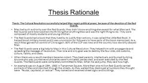 thesis rationale example thesis paper rationale