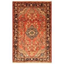 Shop <b>Handmade</b> Herat Oriental Persian Hamadan Wool Rug (Iran ...