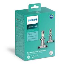 <b>Лампа PHILIPS</b> H4 LED 6200K <b>Ultinon</b> LED, 2шт. — купить в ...