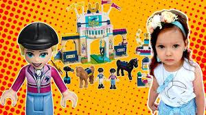 Лего френдс <b>Соревнования по</b> конкуру | <b>Lego friends</b> Stephanie's ...