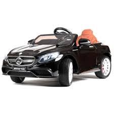 <b>Электромобиль BARTY Mercedes</b>-Benz <b>S63</b> AMG (Черный глянец)