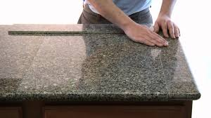 Kitchen Tile Countertop Lazy Granite Tile For Kitchen Countertops Youtube