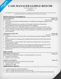 case manager resume example  case manager resume sample  social    nurse case manager resume sample