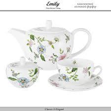 Комплект <b>чайной</b> посуды Provence, 14 предметов на 6 персон ...