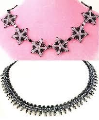 <b>Колье</b> из звездочек и <b>серебристое</b> | Handmade jewelry tutorials ...