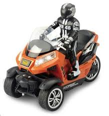 <b>Радиоуправляемый мотоцикл Yuan Di</b> Трицикл 1:10 - YD898-T55 ...