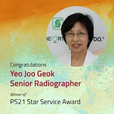 ps21 star service award patient service associate