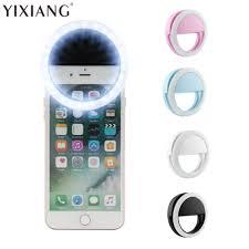 YIXIANG 2018 New Portable Universal <b>Selfie Ring Flash Led</b> Light ...