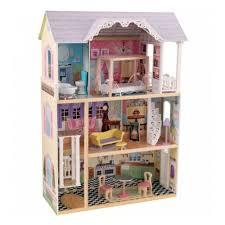 <b>Трехэтажный дом KIDKRAFT</b> из дерева для Барби Кайли с ...