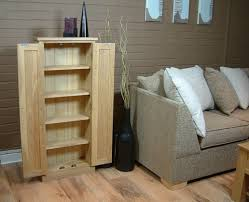 dvd cd tall storage cupboard mobel solid premier oak baumhaus mobel solid oak dvd storage cupboard
