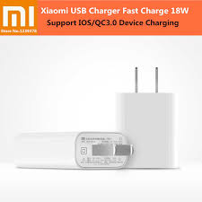 100% <b>Original XIAOMI USB</b> Charger 18W Quick Charge 3.0 Fast ...