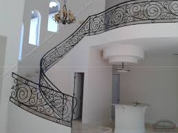 Custom Stair Railing Wrought Iron Stair Railings Stair Design Ideas