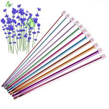 <b>11 Pcs</b>/ Set Crochet Hooks Needle Set Assorted Colors <b>Tunisian</b> ...