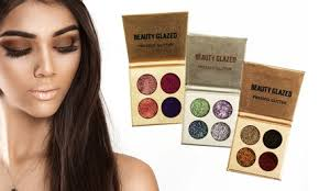 <b>Professional</b> Beauty <b>12</b>-<b>Color Glitter</b> Eyeshadow Palette