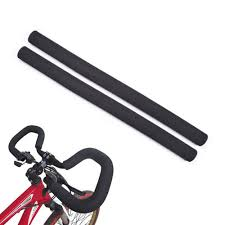 <b>1 Pair Bicycle</b> Handlebar Grips Ergonomic Design Anti-Slip Cycling ...
