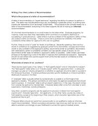 graduate school recommendation letter example recommendation letters
