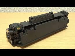 Как заправить <b>картридж Canon</b> 712, 725, 726, 728, HP 35A, 36A ...