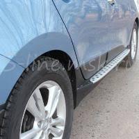 <b>Пороги подножки</b> ступени <b>боковые</b> OEM <b>BMW</b> Style для Hyundai ...