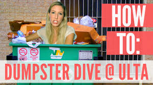 how to dumpster dive at ulta how to dumpster dive at ulta
