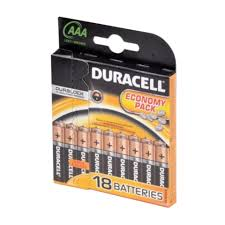 Батарейка AAA - Duracell LR03 BL18 (18 штук) - НХМТ