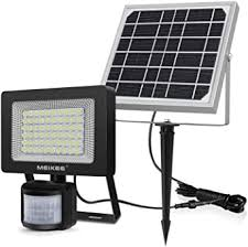 MEIKEE <b>Solar</b> Light <b>Outdoor</b>, 60 LED Security Floodlight with Motion ...