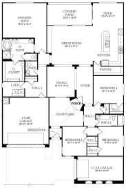 Pulte homes  Floor plans and Floors on PinterestFloor Plan   Catalina   New Home in Waters at Ocotillo   Pulte Homes