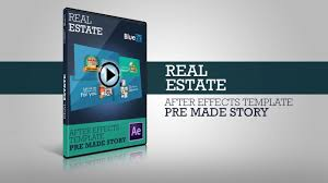 after effects template real estate psst