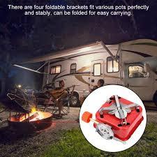 <b>Portable Mini</b> Outdoor <b>Folding</b> Metal Camping Gas Stove Furnace ...