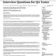 software interview question   pearltreesqa interview questions and answers – interview questions for qa tester