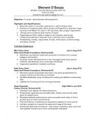 clerical resume sample template job school templates cv after ex