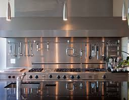 restaurant kitchen faucet small house: contemporary kitchen by modern house architects