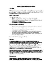 papers amp essays personal development plan essay example  development personal example plan essay