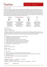 Teacher CV template, lessons, pupils, teaching job, school, coursework Teacher CV 2 ...