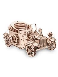 """Деревянный <b>конструктор</b> 3D Retro Car (Форд """"Т"""") EWA (<b>Eco</b>-<b>Wood</b> ..."""