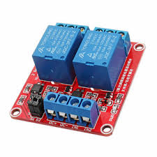 <b>24V 2 Channel Level</b> Trigger Optocoupler Relay Module Power ...