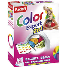 <b>Салфетки</b> для стирки <b>Paclan Color Expert</b> 2в1 20 шт