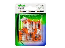 <b>Клемма</b> WAGO <b>универсальная 3</b>-<b>х</b> проводная (20 шт), 221-413 ...