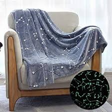 Kanguru Glow in The Dark Constellation Blanket, Gifts ... - Amazon.com