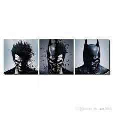 Batman Joker <b>Modern</b> Abstract Figures Pictures <b>HD Printed</b> Oil ...