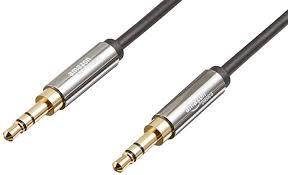 AmazonBasics 3.5 mm Male to Male Stereo Audio ... - Amazon.com