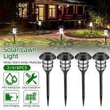 <b>Outdoor</b> Décor <b>Garden Landscape</b> Spike Lighting <b>Solar</b> Path Lights ...