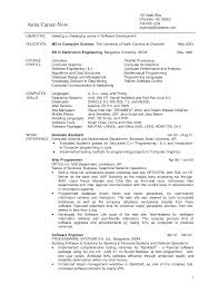 sample computer science resume com sample computer science resume to inspire you how to create a good resume 4
