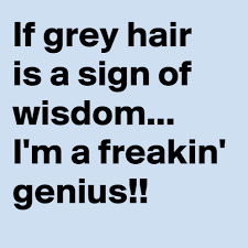 Grey Hair Signs | Funny Pictures, Quotes, Memes, Jokes via Relatably.com