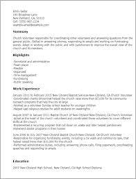 professional church volunteer templates to showcase your talent    resume templates  church volunteer