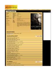 Amc Aventura Showtimes Weinstein Company Outlanderthemovie39s Weblog
