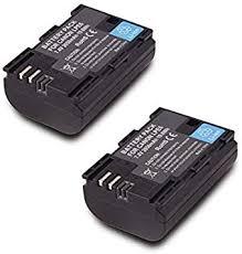 2 Pack Replacement Canon LP-E6 LP E6N Battery ... - Amazon.com