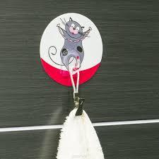 18228 <b>Tatkraft FUNNY CATS</b> TOM адгезивный <b>крючок</b>. Диаметр 8 ...